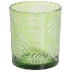 ProCook Green Fern Design Candle Holder - Medium