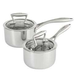 ProCook Elite Tri-Ply Saucepan Set - 2 Piece