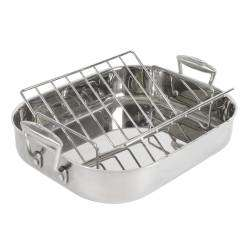 ProCook Elite Tri-Ply Roasting Tin & Rack - 37cm x 30.5cm