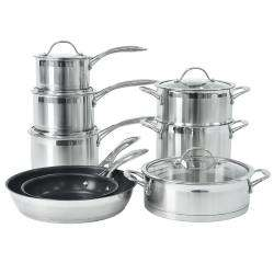 ProCook Professional Steel Cookware Set - 8 Piece
