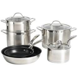 Professional Stainless Steel Cookware Set - 6 Piece