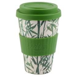 Life's a Beach Bamboo Coffee Cup - Bamboo