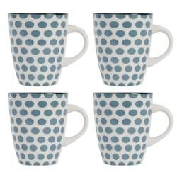 ProCook Dartmouth Stoneware Mug Set - 4 Piece
