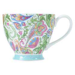 ProCook Footed Mug - Soft Paisley