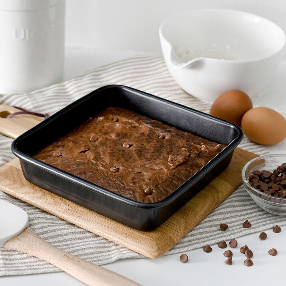 ProCook Non-Stick Loose Bottom Brownie Tin