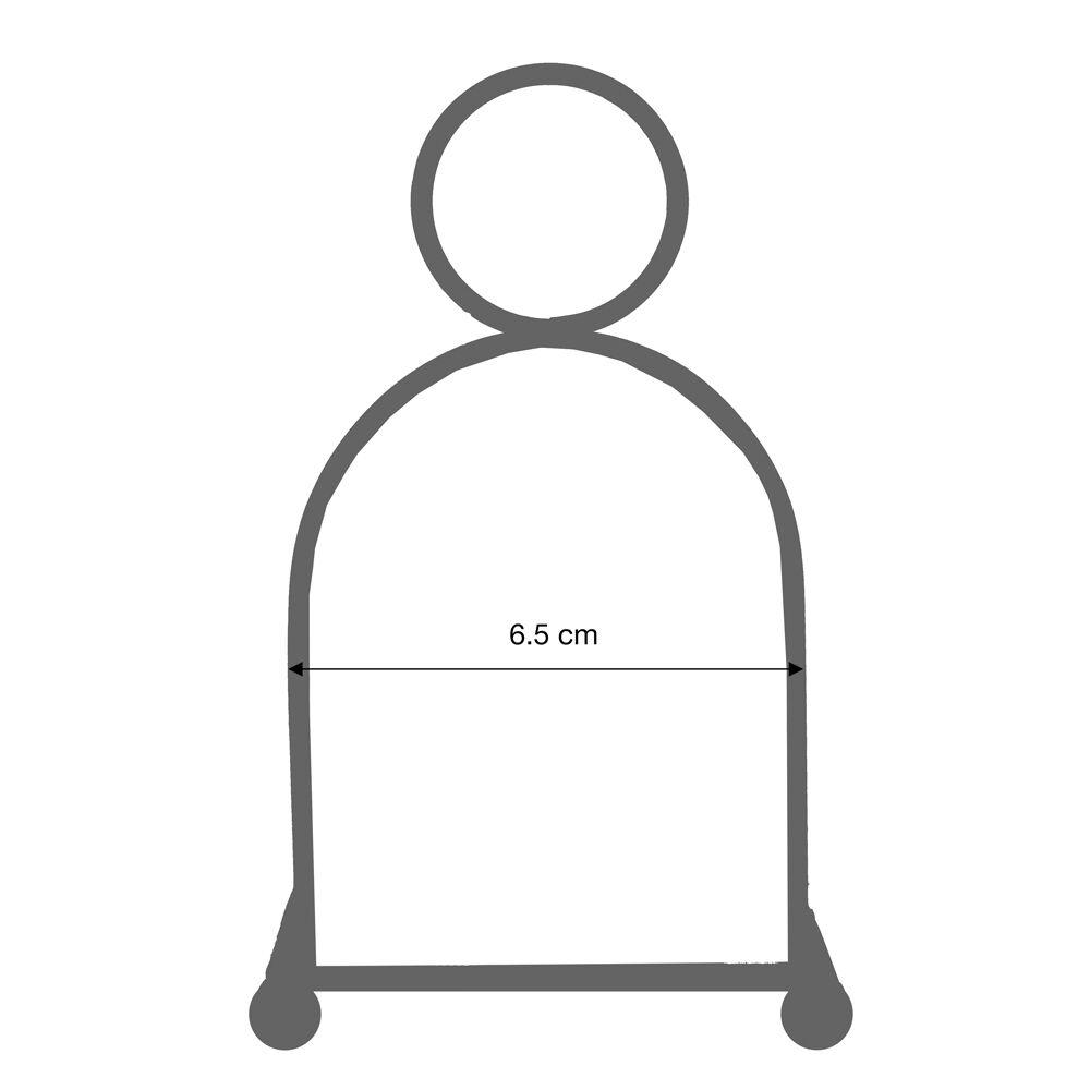 Jobri Unisexs Better Back VLS Ergonomic Posture Seating-Black 53 x 45 x 15 cm