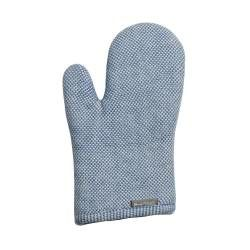 ProCook Single Oven Glove - Blue and Biscuit Check