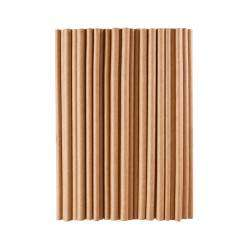Life's a Beach Paper Straws - Natural Brown 75 Pieces