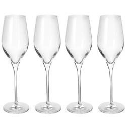 St. Tropez Champagne Glasses - Set of 4 - 230ml