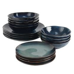 Vaasa Stoneware Dinner Set - 16 Piece - 4 Settings