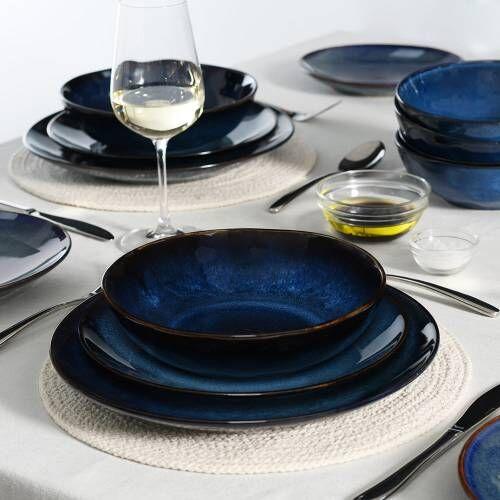 Vaasa Stoneware Dinner Set 20 Piece - 4 Settings