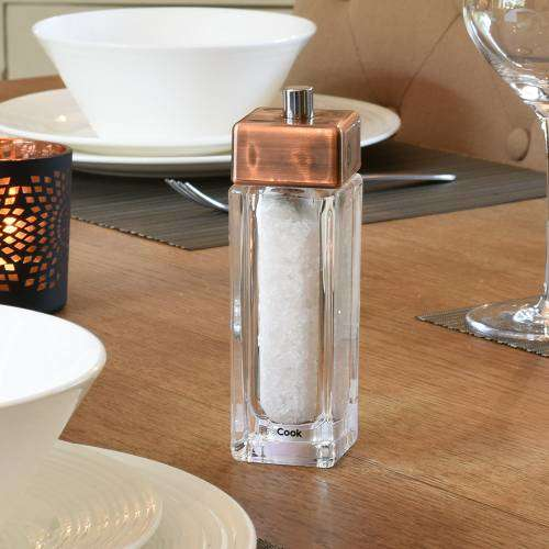 ProCook Copper Salt or Pepper Mill 15cm