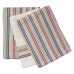 ProCook Tea Towel 3 Piece Set - Multi Stripe