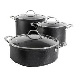 Professional Granite Casserole Set - 3 Piece