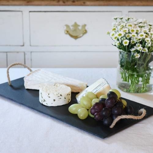ProCook Cheese Board with Rope Handles Slate