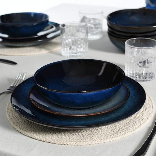Vaasa Stoneware Dinner Set 16 Piece - 4 Settings