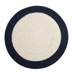 ProCook Cotton Placemat - Navy Rim