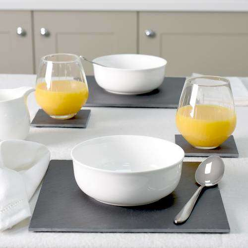 ProCook Slate Placemats and Coasters - Sets of 4 Square