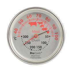 ProCook Meat and Oven Thermometer - Stainless Steel
