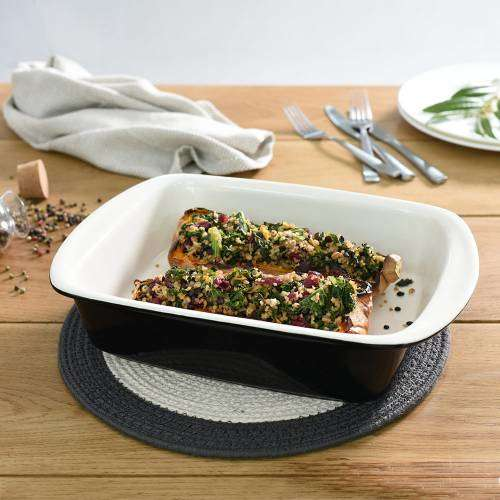 ProCook Stoneware Oven Dish 33.5cm x 23cm Black