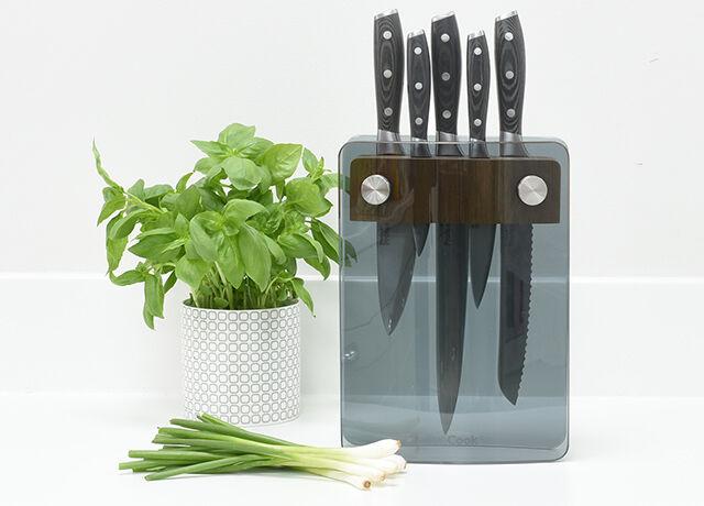 Glass Knife Blocks