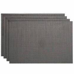 ProCook Rectangular Placemats - Set of 4 - Grey