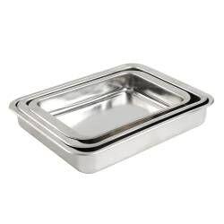 ProCook Stainless Steel Roasting Tin Set - 3 Piece