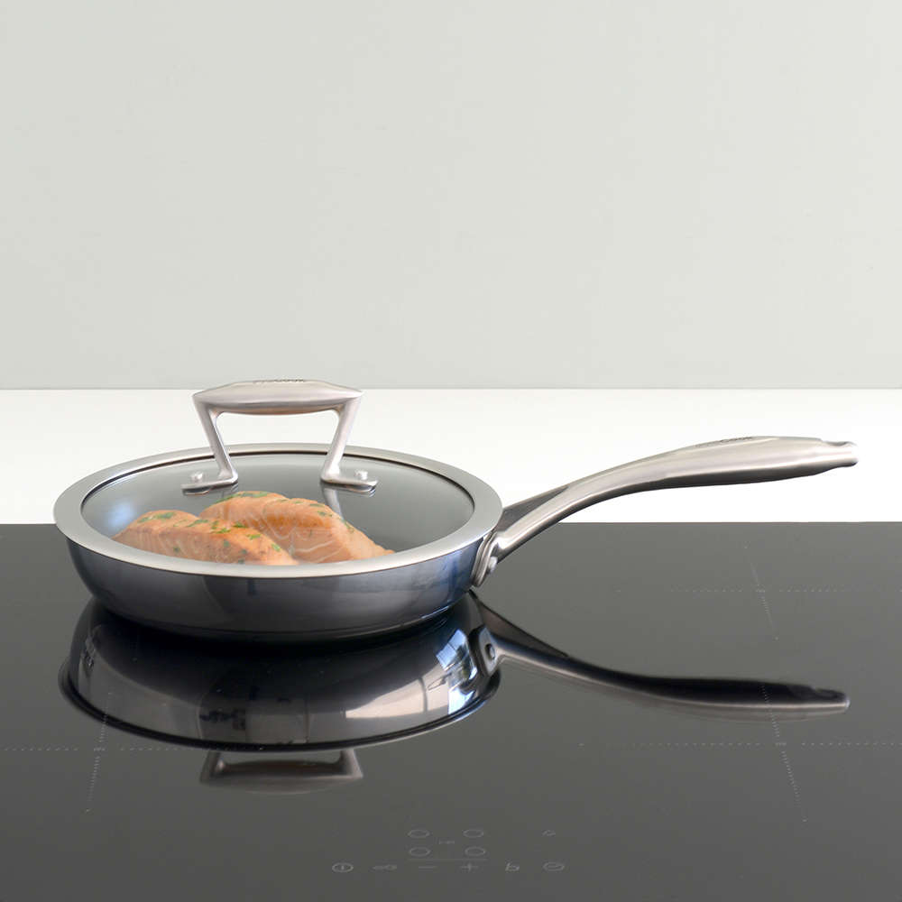 Elite Tri Ply Frying Pan With Lid 22cm Elite Tri Ply From Procook