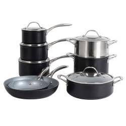 ProCook Professional Ceramic Cookware Set - 8 Piece