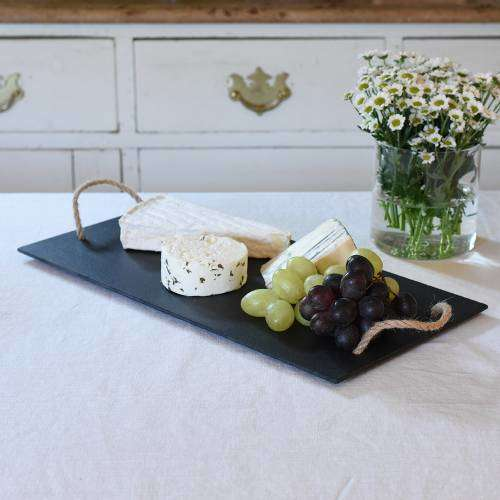 Awesome Procook Cheese Board With Rope Handlesslate Dailytribune Chair Design For Home Dailytribuneorg