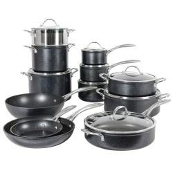 Professional Granite Cookware Set - 12 Piece
