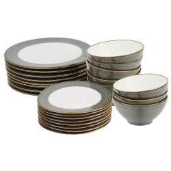 ProCook Napa Porcelain Dinner Set - 24 Piece - 8 Settings