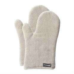 ProCook Oven Glove Pair - Biscuit and Cream Check