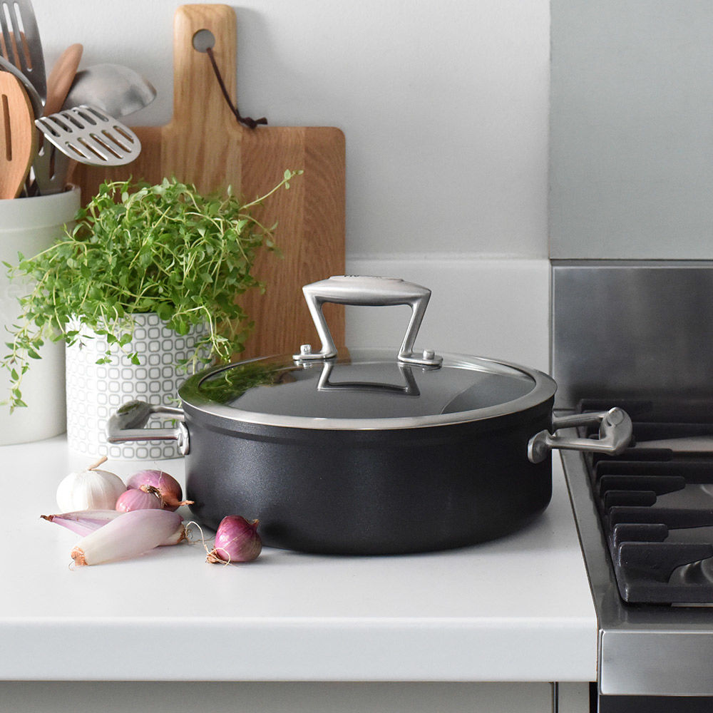 Elite Forged Shallow Casserole & Lid