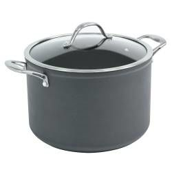 Professional Anodised Stockpot - 24cm / 7.1L