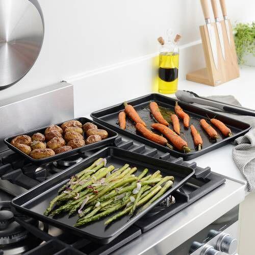 ProCook Non-Stick Baking Tray Set 3 Piece