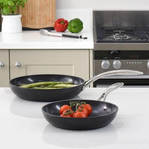 Professional Ceramic Frying Pan Set 24 and 28cm