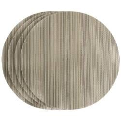 ProCook Round Placemats - Set of 4 - Gold