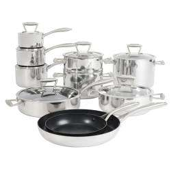ProCook Elite Tri-ply Cookware Set - 10 Piece