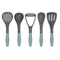 Designpro Nylon Utensil Set - 5 Piece Sage