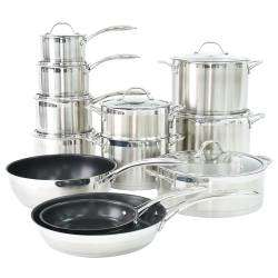 ProCook Professional Steel Cookware Set - 12 Piece