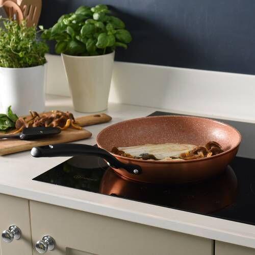 Copper Granite Non-Stick Frying Pan 28cm