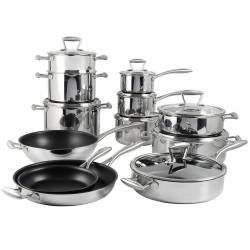 Elite Tri-ply Cookware Set - 12 Piece