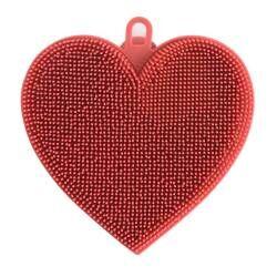 ProCook Silicone Scrubber - Heart
