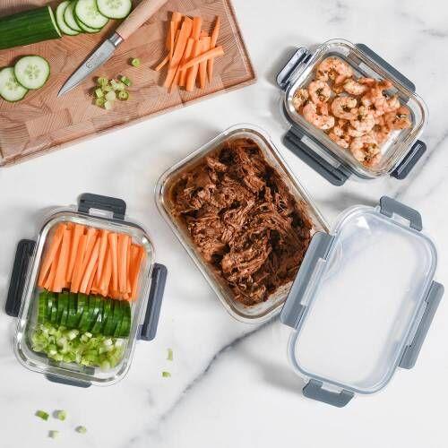 ProCook Glass Ovenware Airtight Storage Set 3 Piece