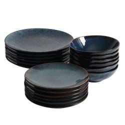 ProCook Vaasa Stoneware Dinner Set - 18 Piece - 6 Settings