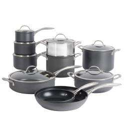 ProCook Professional Anodised Cookware Set - 10 Piece
