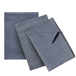 ProCook Tea Towel 3 Piece Set - Blue Grey