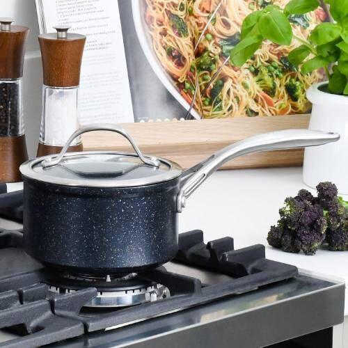Professional Granite Saucepan & Lid 14cm / 1.2L