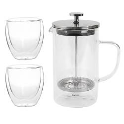 ProCook Cafetiere Gift Set - 600ml and 2 Cups